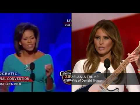 Melania Trump & Michelle Obama Duet (The Day That Brought World Peace)