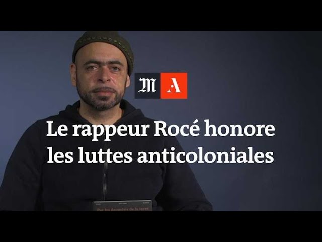 Le rappeur Rocé honore les luttes anticoloniales et ouvrières en musique