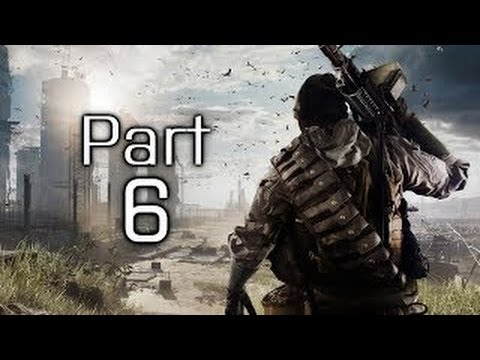 Battlefield 4 Gameplay Walkthrough Part 6 - Campaign Mission 6 - Tashgar