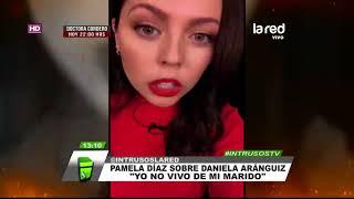 Sin pelos en la lengua: Esto fue lo que dijo Pamela Díaz sobre el rol televisivo de Daniela Aránguiz