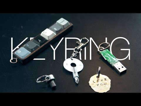 DIY Christmas Gifts Ideas KEYRINGS