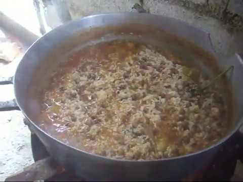 Cocina casera dominicana moro de guandules secos youtube for Cocina dominicana
