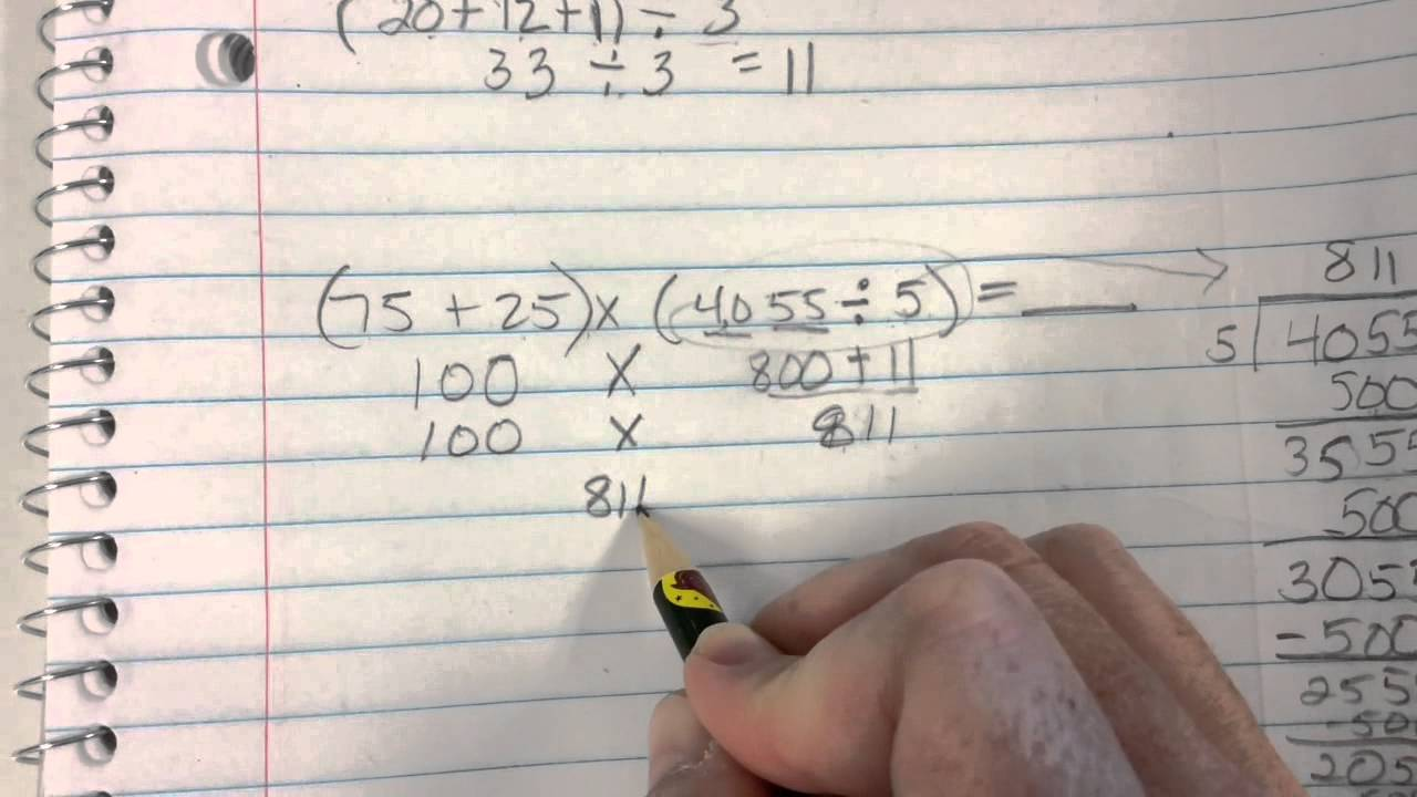 Multistep division word problems - YouTube