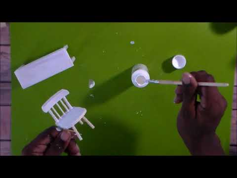 Altering Doll Furniture Pt 1