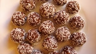 Little Alcohol And Chocolate Balls - How To Cook Polish Food