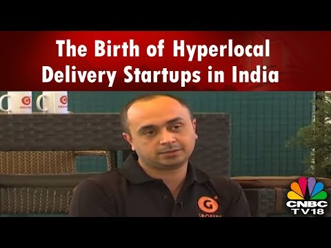 YOUNG TURKS | Online Grocery Shop | The Birth of Hyperlocal Delivery Startups in India | CNBC TV18
