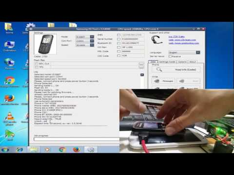 How To unlock Samsung E1085F with z3x