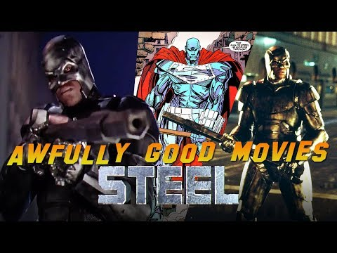 STEEL - Awfully Good Movies (1997) Shaquille O'Neal, Annabeth Gish, Judd Nelson DC Superhero movie