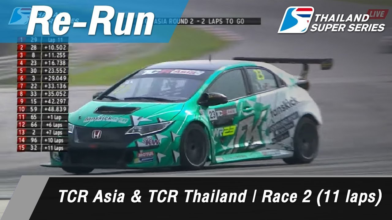 TCR Asia & TCR Thailand | Race 2 (11 laps) : Sepang International Circuit Malaysia 1 Api 2018