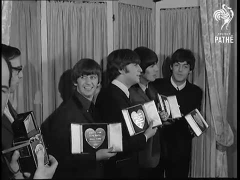 Beatles Get Show Biz Top Award  (1964)