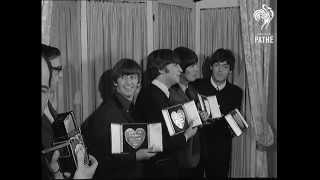 Beatles Get Show Biz Top Award  (1964)