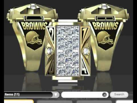 Ohio State Cleveland Cavaliers And Browns Championship Rings
