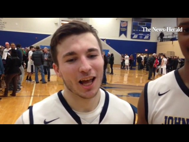Will Starks and David Linane talk about the 82-78 victory over Marietta.
