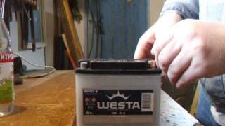 Как заправить аккумулятор электролитом