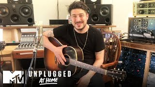 """Marcus Mumford Performs """"Lay Your Head On Me,"""" """"Fare Thee Well"""" & More 🎸 MTV Unplugged At Home"""