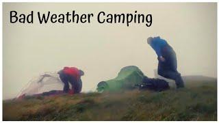 Dartmoor Wild Camp | Camṗing in high winds | Steeperton Tor | Vango Banshee 200 in Gale force winds
