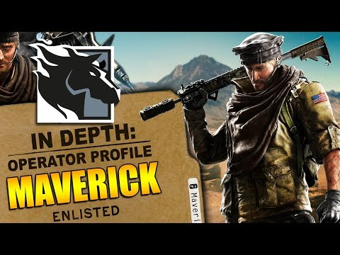 Rainbow Six Siege - In Depth: HOW TO USE MAVERICK - OPERATOR PROFILE - TIPS AND TRICKS