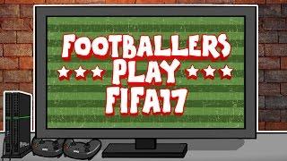 FOOTBALLERS PLAY FIFA 17! (MSN, Messi, Suarez, Neymar, Ronaldo, Bale, Muller and more!)