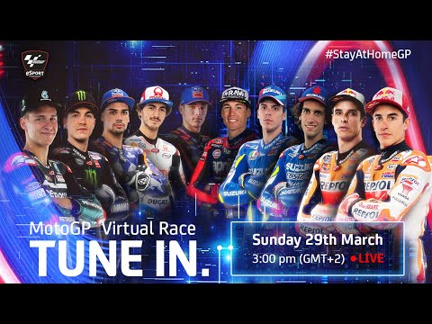MotoGP Virtual Race | #StayAtHomeGP Teaser