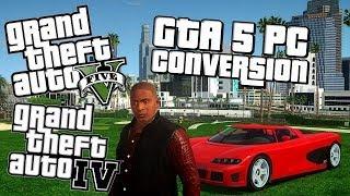 Grand Theft Auto IV - GTA V PC (LS Converted To IV MOD) HD