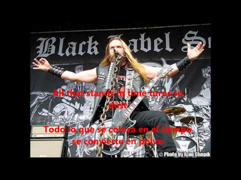 Rust    Black Label Society Lyrics  Traducida a español