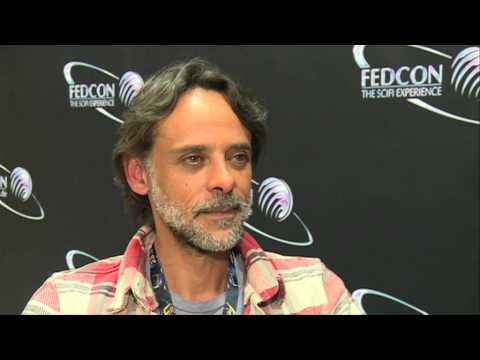 with Alexander Siddig STAR TREK DS9 Star at FedCon 2014