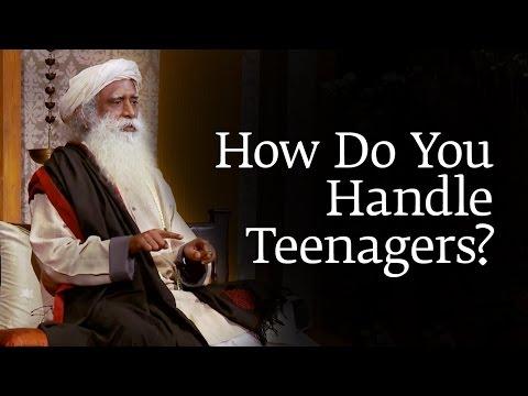 How Do You Handle Teenagers? | Sadhguru - YouTube