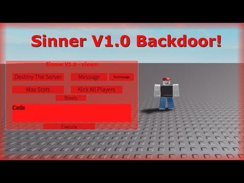 ROBLOX Backdoor