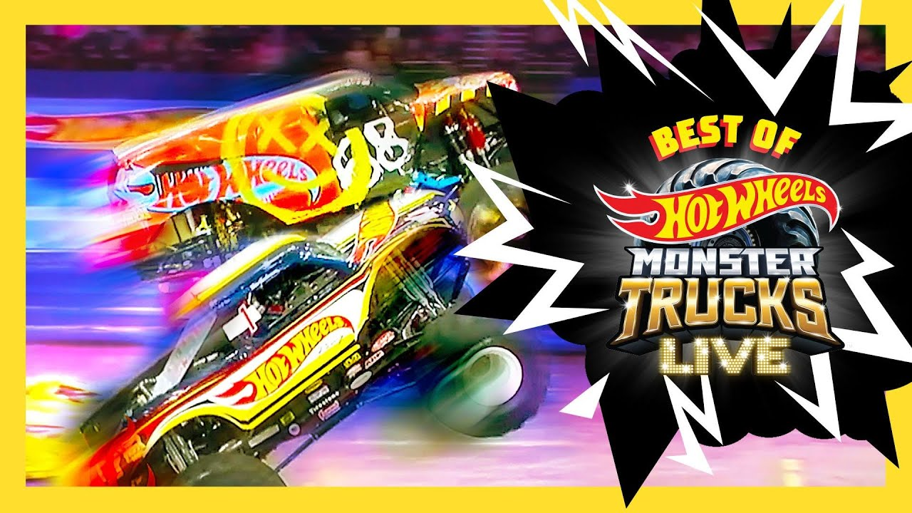 ULTIMATE MONSTER TRUCKS LIVE CRASH & SMASH! | Monster Trucks LIVE | Hot Wheels