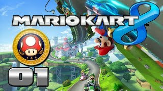 MARIO KART 8 ★ Der Pilz-Cup 50ccm ★ Lets Play Together Mario Kart 8 - Deutsch German