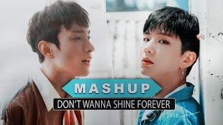 "Video [MASHUP] SEVENTEEN & MONSTA X :: ""Don't Wanna Shine Forever"" download MP3, 3GP, MP4, WEBM, AVI, FLV Maret 2018"