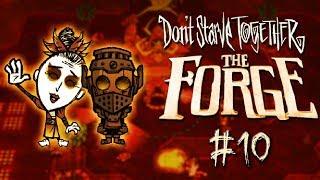 Don't Starve Together: The Forge #10 - Braciorożce kontra my!