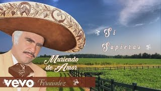 Vicente Fernández - Si Supieras (Cover Audio)