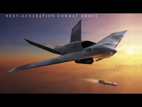 General Atomics releases new image of its next-generation combat drone