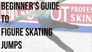 beginner's guide to figure skating jumps