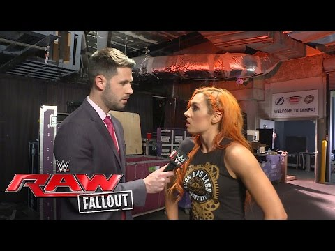 An incensed Becky Lynch has a message for Natalya: Raw Fallout, June 27, 2016