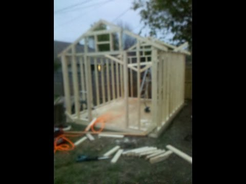 How to build a shed for CHEAP