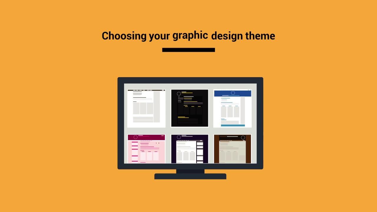 Choose your graphic design theme