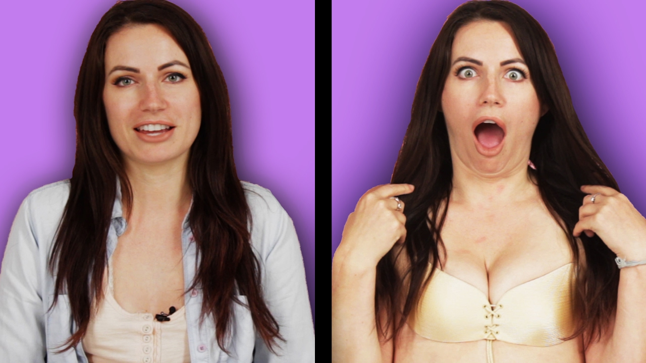 Women With Small Boobs Try The Insta-Famous Bra - Youtube-8336