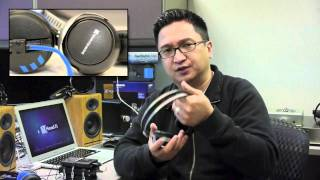 Sennheiser HD 25-1 ii and beyerdynamic DT 1350 - Head-Fi TV, Episode 004
