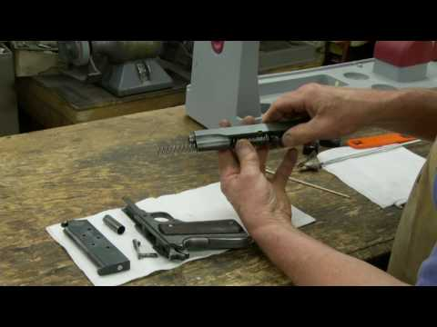 Disassemble and Clean a Colt Model 1911 - Gunsmith Tip
