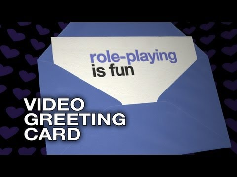 Role-playing is fun - Video Greeting Card - Sexy Love E-Card