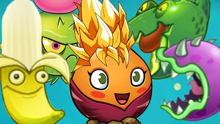 Plants vs. Zombies 2 - Every beach plant Power-Up!