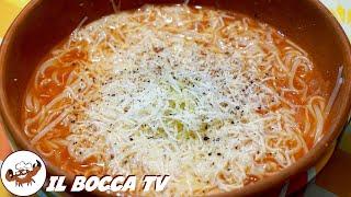 348 - Minestra de' poveri...in un attimo la spolveri! (primo piatto/zuppa semplice facile e gustosa)