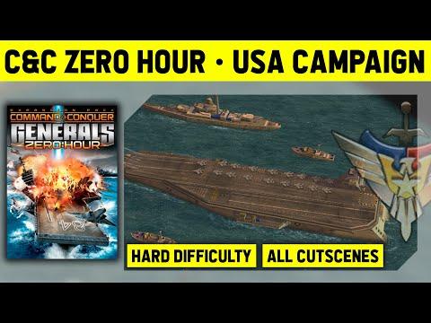 C&C Zero Hour - USA Campaign On Hard - Walkthrough No Commentary [1080p]