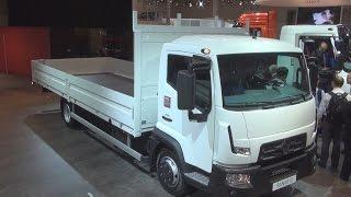 Рено вантажні автомобілі Д 7.5 2М кабіни діапазон D (2014) екстер'єру та інтер'єру в 3Д 4К UHD