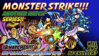 Milko Gaming : Monster Strike, Napoleon Rate Up. Will I get it???
