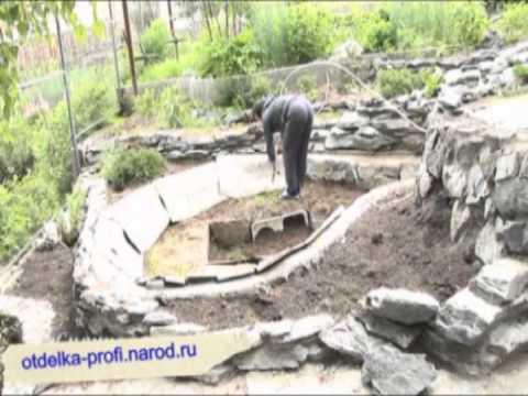 видео: дизайн сада - водоёмы, водопады, ручьи