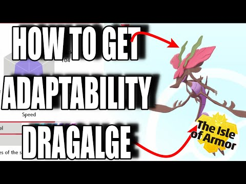 How To Get Hidden Ability Adaptability Dragalge! - Pokemon Sword and Shield Isle Of Armor Guide! |