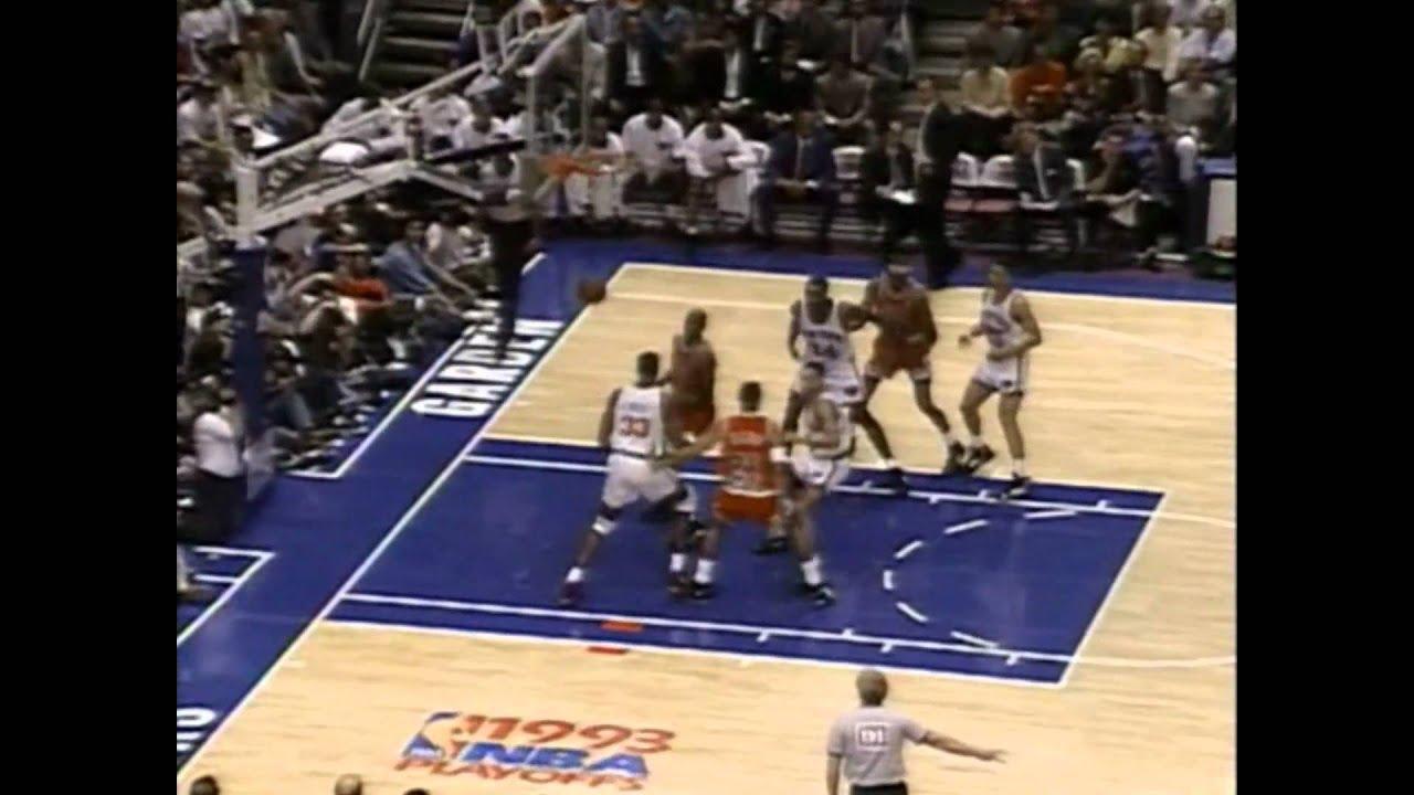 5c14ee42 Scottie Pippen: Block Party in MSG (1993 ECF Game 5) - YouTube